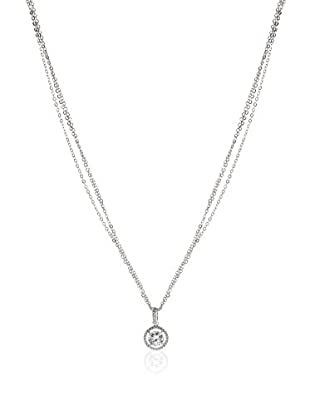 CZ BY KENNETH JAY LANE Set Kette und Anhänger Pave Halo Classic