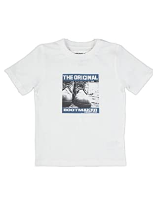 Timberland Kids Camiseta Print (blanco)