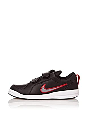 Nike Zapatillas Pico 4 (Psv) (Negro / Gris / Rojo)