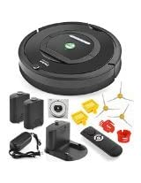 iRobot Roomba 770 Automatic Robotic Vacuum Cleaner For Pets and Allergies 3 Side Brushes (These items are used together)