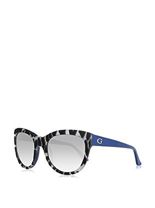 Guess Sonnenbrille GU7429 5692B (56 mm) himmelblau/dunkelbraun