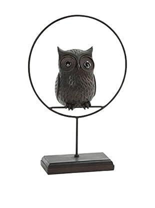 Especial Dia del padre Dekoartikel Owl braun