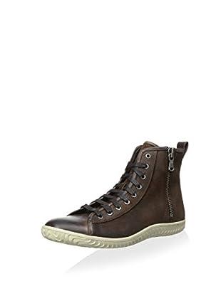 John Varvatos Men's Hattan Side Zip Sneaker