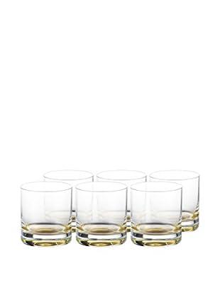 Eisch Set of 6 Gentleman Sensis Plus 14.1-Oz. Double Old Fashioneds