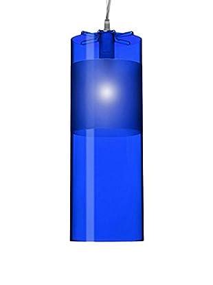 Kartell Pendelleuchte Easy blau