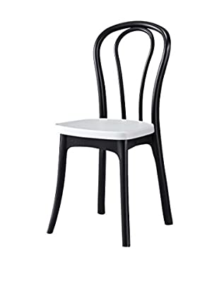 Special tables & Chairs Set Silla 4 Uds. Bistrot Negro