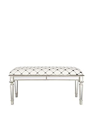 Safavieh Layla Bench, Grey/Ivory