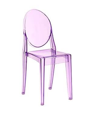 Premier Houseware  Stuhl 2er Set 2403837 rosa