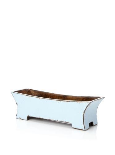 Antique Revival Decorative Planter Box (Aqua)