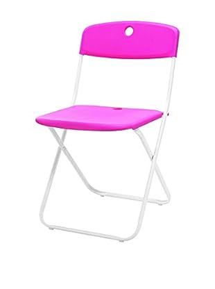 Special tables & Chairs Set Silla Plegable 4 Uds. Nina Fucsia