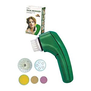 Ozomax Facial Massager - Green