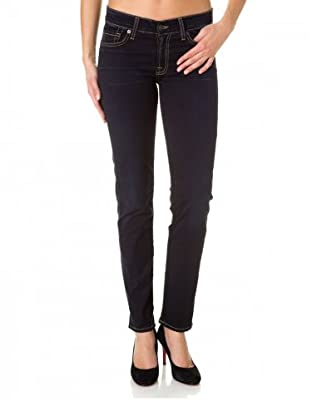 7 for all Mankind Gwenevere Vintage Gummy Super Skinny Fit (Indigoblau)