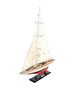 Old Modern Handicrafts, Inc. The Endeavour, Red/White