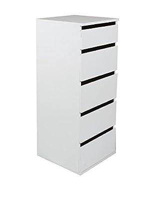 Modern Home Schubladenschrank weiß
