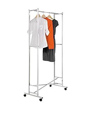 Honey-Can-Do Chrome Square Tube Garment Rack