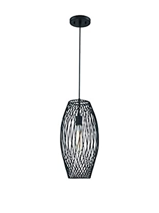 Lite Source Walworth 1-Light Pendant, Black
