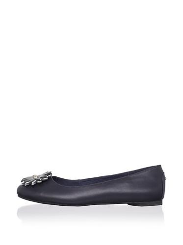 J. Loren Kid's Marleen Dress Shoe (Navy)