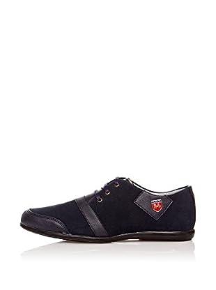 Star Jaguar Zapatos Derby Laci (Azul Marino)