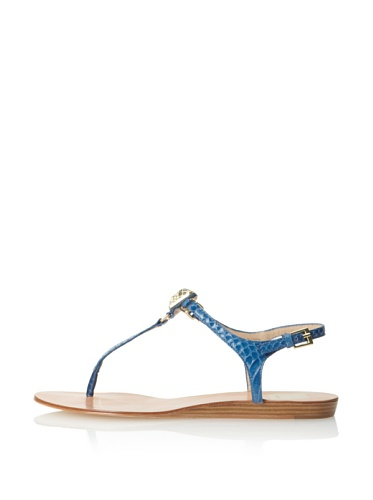 Dolce Vita Women's Isolde Sandal (Blue Snake)