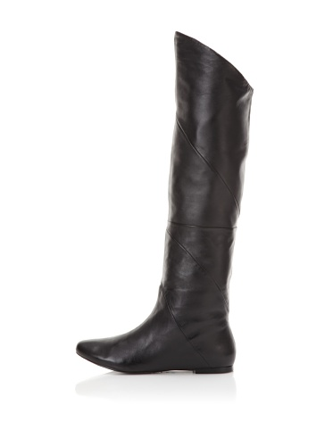 Belle by Sigerson Morrison Women's 6670 Knee-High Boot (Black Leather)