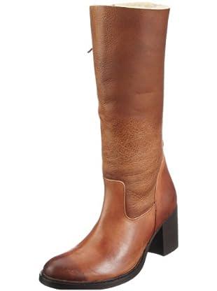 Buffalo London 1002 W 04 COW MONTONE 121935 - Botas de cuero para mujer (Marrón)