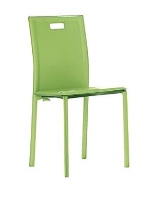 TUONI Stuhl 4er Set Silla grün
