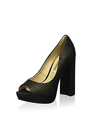 Buffalo London Zapatos peep toe