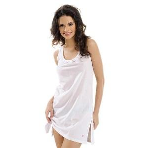 Valentine Women's White Semi Long Slip