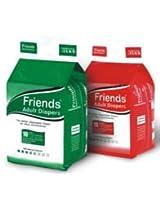 Friends Adult Diaper-10-Medium