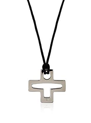 Divas Diamond Conjunto de cordón y colgante Diamond Corded Cross Necklace