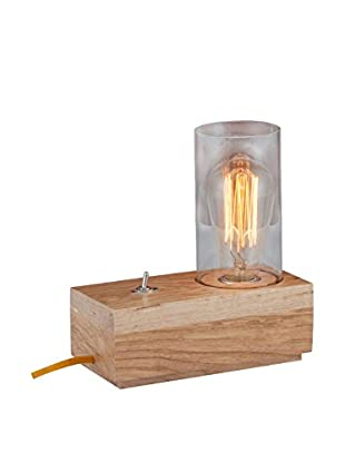Light up Lámpara De Mesa Wood Madera