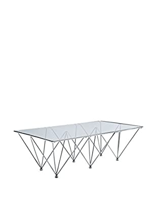 Modway Prism Rectangle Coffee Table, Clear