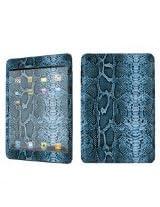 Apple iPad Mini Decal Vinyl Skin Blue Snake By SkinGuardz