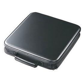 【クリックでお店のこの商品のページへ】サンワサプライ 160枚収納 DVD CDケース ブラック FCD-16005BK: パソコン・周辺機器