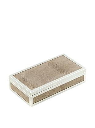 Bey-Berk Silver-Plated Rectangular Hinged Box