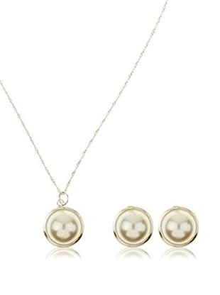 Cordoba Jewelles Conjunto de cadena, colgante y pendientes plata de ley 925 milésimas