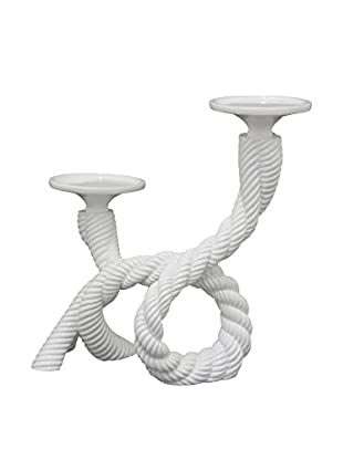 Three Hands Resin Rope Candle Holder