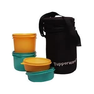 Tuuperware Executive Lunch Set with Bag + 1 Cutie Tumbler (200ml) (6.00)