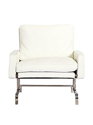 Kardiel Modern Armchair, White