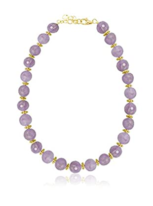ETRUSCA Halskette  lila