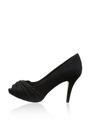 Menbur Zapatos de Tacón Sil (Negro)
