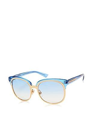 Gucci Sonnenbrille Gg 4241/ S Eyy (56 mm) gold/blau/grau