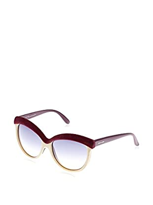 ITALIA INDEPENDENT Sonnenbrille 0092V2-057-58 (58 mm) bordeaux/honig