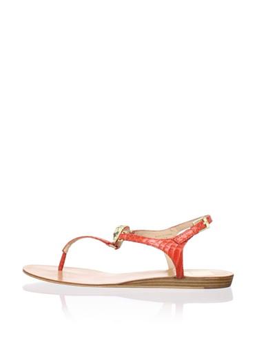 Dolce Vita Women's Isolde Sandal (Melon Snake)