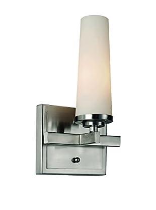 Bel Air Lighting Light Saber 1-Light Vanity, Satin Nickel