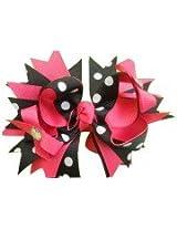 NeedyBee Victoria Secret Pink & Black Bow NHA116PB