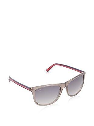 Gucci Sonnenbrille 1055/S IC 0VS (57 mm) grau