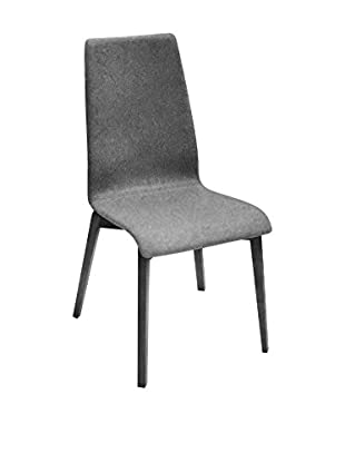 Domitalia Jill Chair, Light Grey/Black