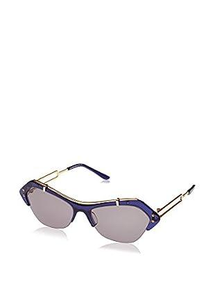 Tod'S Gafas de Sol TO0166 (56 mm) Azul / Dorado