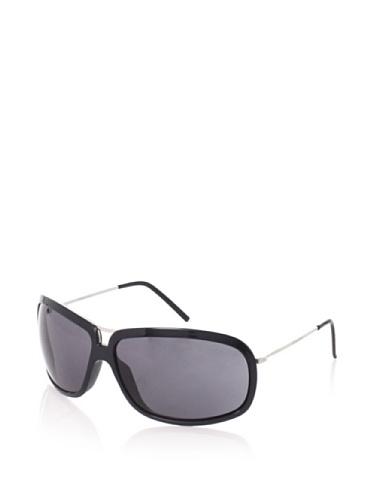 Giorgio Armani Women's 624/S Wrap Aviator Sunglasses, Shypallad/Black